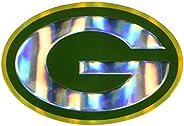 NFL Green Bay Packers Die Cut Color Automobile Emblem, Team Color