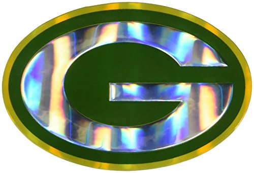 NFL Green Bay Packers Die Cut Color Automobile (Green Bay Packers Auto Emblem)