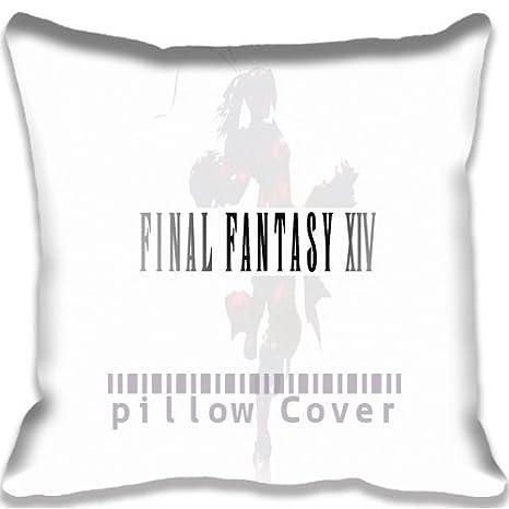 game Awesome Final Fantasy XIV Pillowcase/Fundas para ...