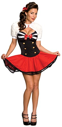 Naval Pinup Medium Sexy Adult Costume