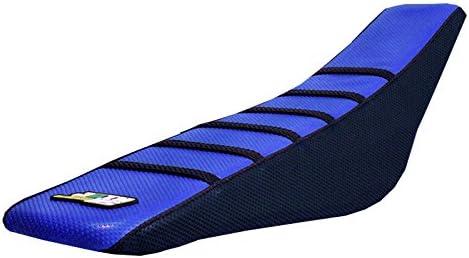 D Cor Gripper Factory Rib Seat Cover Blue//Black Yamaha YZF450 YZ450F 2018