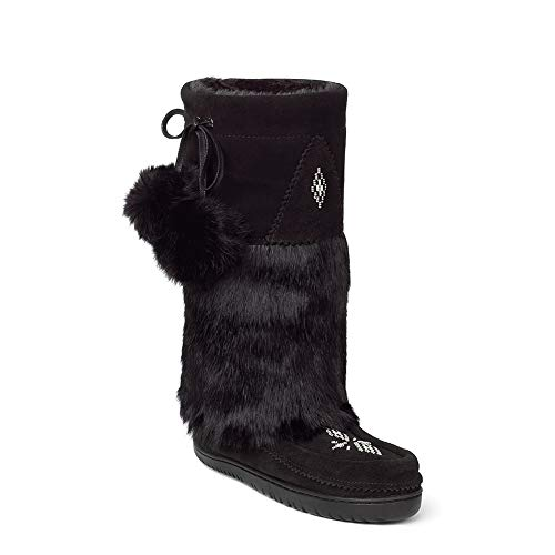 erproof Snowy Owl Grain Mukluk Black Boot - 10 ()