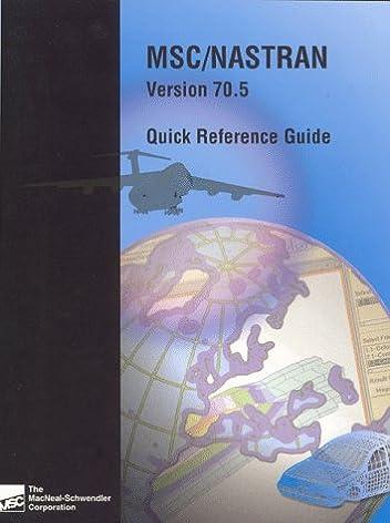 msc nastran quick reference guide msc 9781585240005 amazon com books rh amazon com nastran quick reference guide 2012 nastran quick reference guide 2008