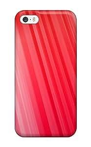 New Tpu Hard Case Premium Iphone 5/5s Skin Case Cover(red)