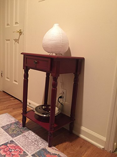 Asian Metal Table Lamp - 3