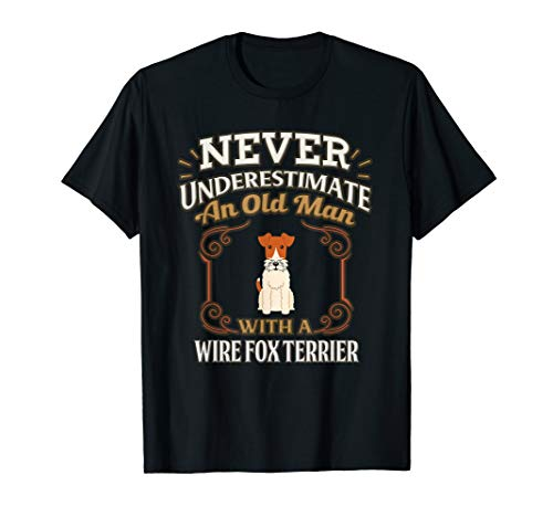 - Wire Fox Terrier Father T Shirt