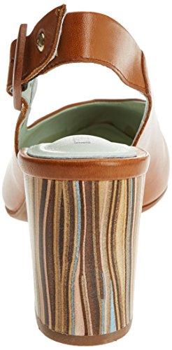 Pikolinos Damen Salamanca Pompe Slingback W1s Braun (grappa)