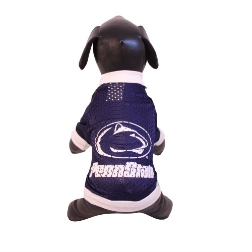 - NCAA Penn State Nittany Lions Athletic Mesh Dog Jersey (Team Color, XX-Large)