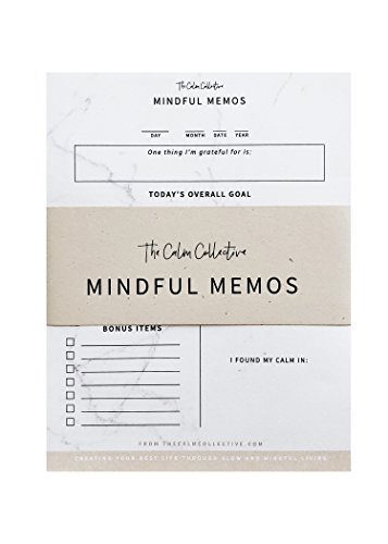 Mindful Memos To Do List by The Calm Collective