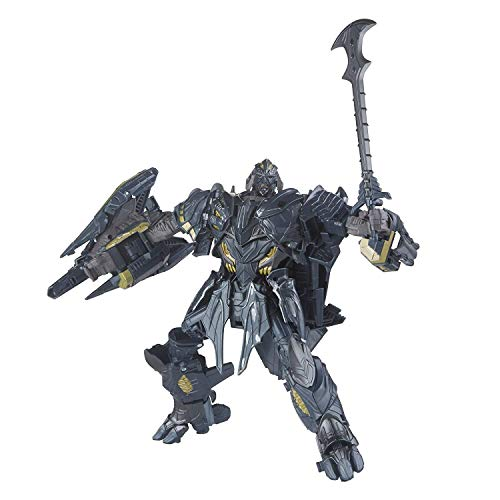 Transformers: The Last Knight Premier Edition Megatron Transformer Action Figure - Ages 8 and Up from Transformers