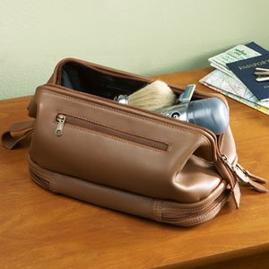 Leather Toiletry Kit by