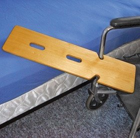 Double Notched Wheelchair Transfer Board | AliMed®