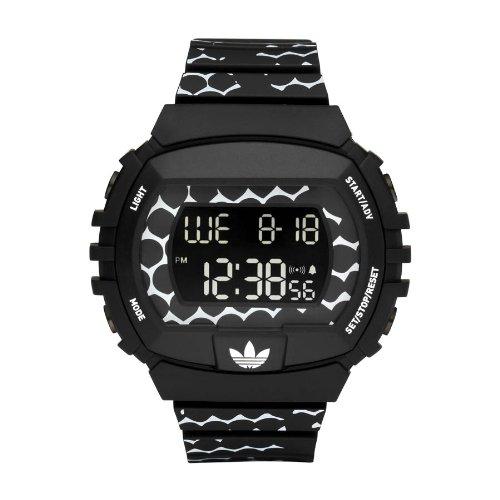 adidas Adh6118 - Reloj digital unisex, correa de goma color negro: Amazon.es: Relojes