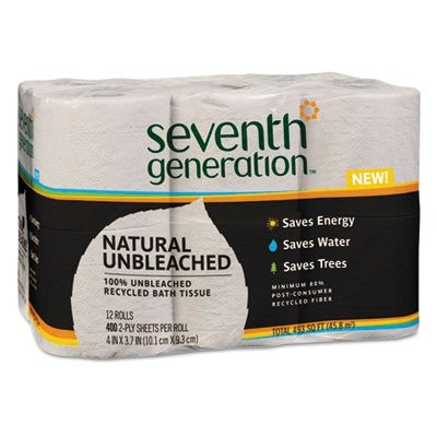 SEV13735 - Seventh Generation Recycled Unbleached Bathroom T