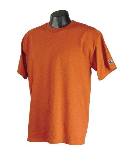 Champion T425 Adult Short-Sleeve T-Shirt Orange