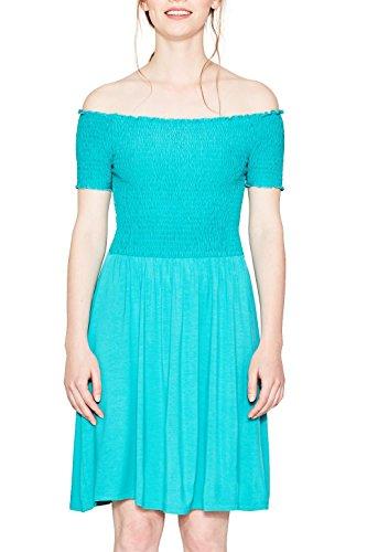 ESPRIT, Vestido para Mujer Verde (Aqua Green 380)