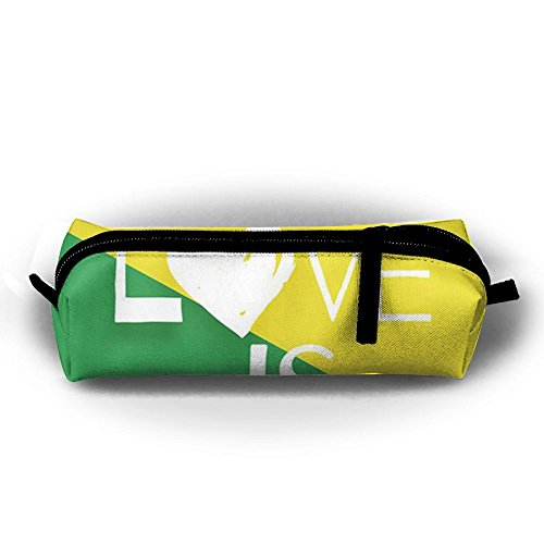 Rainbow Love Storage Pouch Bag Pencil Pouch Portable Makeup Pouch Space Saving For Couple by ESP