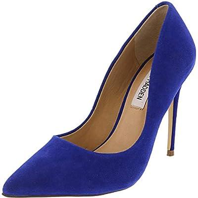 Steve Madden Women's Daisie Suede Ankle-High Pump