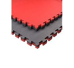 Suelo Tatami Japon/és Pack Esterilla Goma Espuma Estructura Tatami Puzzle Ideal Artes Marciales Grosor: 4cm Judo