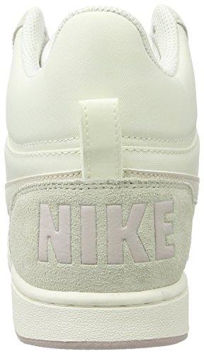 Nike W Court Borough Mid Prem, Women's High-Top Sneaker, Beige (Sail/lt Orewood Brn/silt Red/white), 3.5 UK (36.5 EU)