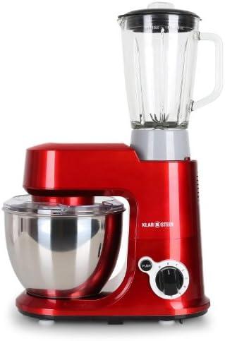 KLARSTEIN Carina Rossa Set Robot de Cocina multifunción con ...