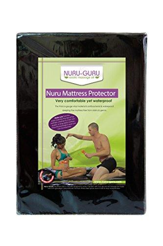 Nuru Mattress Protector Massage Sheets Waterproof (QUEEN)