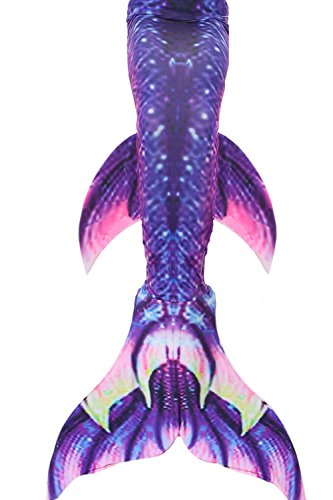 Mermaid Tails for Swimming Kids Girls Swimsuits Support Monofin Mermaid Costumes -