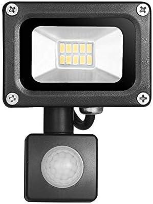 10W 20W Reflector LED Reflector de luz de inundación con sensor de ...
