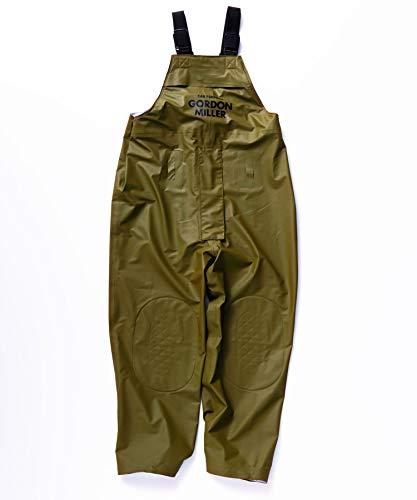 [해외]GORDON MILLER 방수 뽀 빠이 바지 작업복 바인더 작업 바지 워크 웨어 유 니 섹스 올 시즌 프리 사이즈 방수 OD 카 키 1553974 / GORDON MILLER Waterproof Salopette Work Wear Piece Overall Workwear Unisex All Seasons Free Size Waterproof OD...