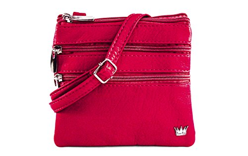 Purse King Mini Countess Mini Bag (Red) - Countess Mirror