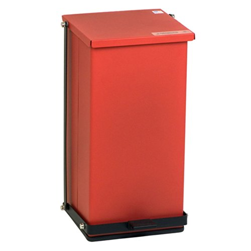 (Receptacle Baked Epoxy in Red Capacity: 32 Quart (8 Gallon))