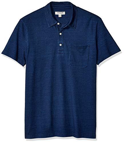 Amazon Brand - Goodthreads Men's Indigo Polo
