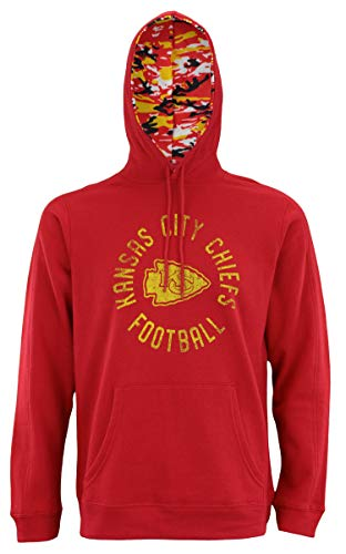 (Zubaz NFL Men's Team Camo Lined Pullover Hoodie, Kansas City Chiefs)
