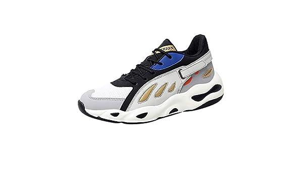 Posional Zapatillas Deporte Hombre Zapatos para Correr Athletic Cordones Unisex Zapatillas Deportivas Deportivas con Zapatillas de Camuflaje Transpirables: Amazon.es: Oficina y papelería