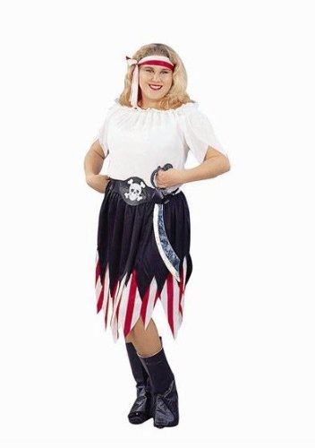 Pirate Wench Costume Plus Size (Adult Female Pirate Costume)