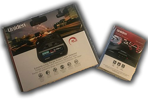 Uniden R1 + Hardwire Kit w/ Mute Button Bundle