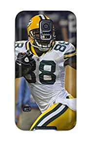 Tpu Shockproof/dirt-proof Greenay Packers Cover Case For Galaxy(s5)