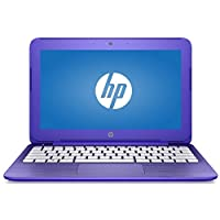HP Stream 14-Inch Flagship Laptop (Intel Celeron N3050 1.6GHz, 4GB RAM, 32GB, Windows 10 Home) Violet (Certified Refurbishd)