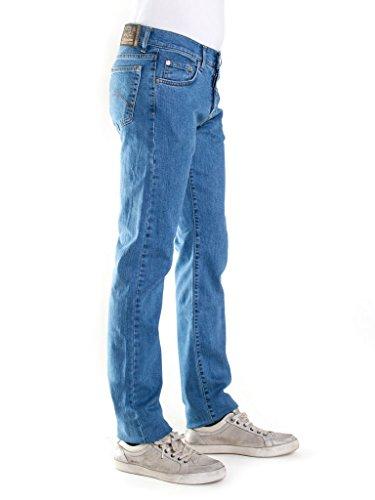 super Carrera Lavaggio Mens Wash 710 Blu Chiaro 500 Stone Jeans Regular Fit Rdw4nHgz