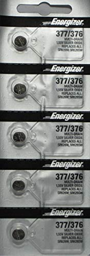 Energizer 377 / 376 Watch Batteries (Pack of ()