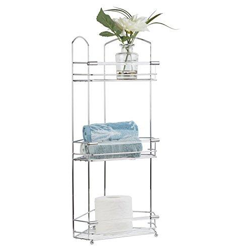 Bathroom Storage Organization Richards Tower Crystal Acryli C