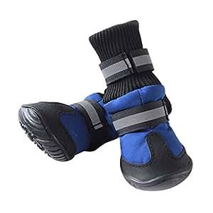 Amazon.com : SENERY Pet Dog Shoes Boots, Winter Waterproof