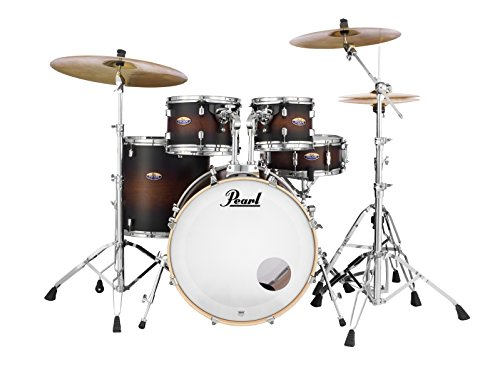 Pearl Decade DMP925SP/C260 5 Piece Drum Shell Pack, Satin Brownburst