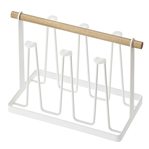 HaloVa Cup Drying Rack Stand, Non-slip Iron Art Hook Mugs