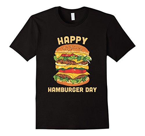 Junk Food Cheeseburger T-Shirt - Hamburger Day Burger Fries