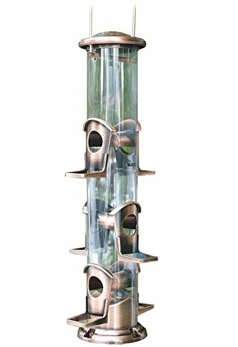 WoodLink Brushed Copper 6-Port Bird Feeder by Woodlink (Image #2)