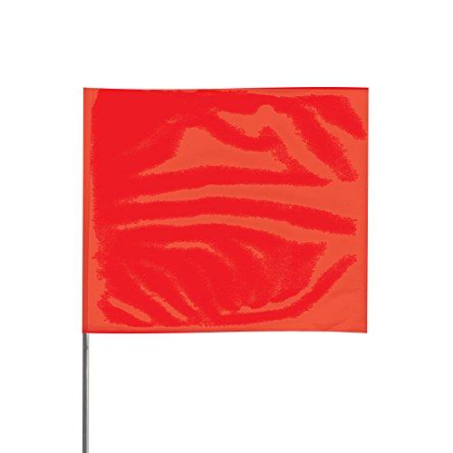 "Presco 5836R 5"" x 8"" x 36"" Stake Red PVC Wire Stake"