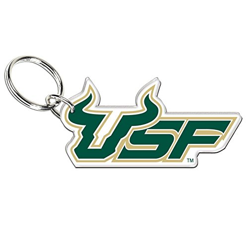 South Florida Bulls Official NCAA 3 inch Key Chain Keychain by Wincraft 208262 by WinCraft