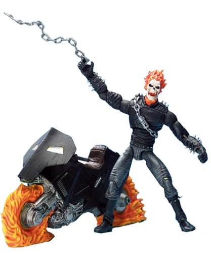 Toy Biz Marvel Legends Series III / 3 - GHOST RIDER with ...