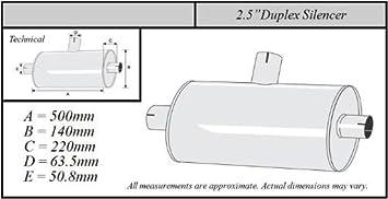 Simons Schalld/ämpfer Micro 51mm U405100R